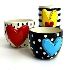 Heartful Home Tracy Pesche Heart Vases
